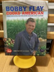 Bobby Flay Cooks American Signed First Edition
