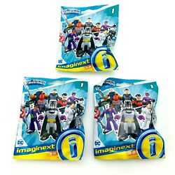 Lot Of 3 Fisher Price Imaginext | Dc Super Friends | Series 1 | Unopened | 2020