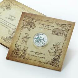 Moldova 20 Lei Goat With Three Kids Fairy Tale Folklore Proof Coin 2019