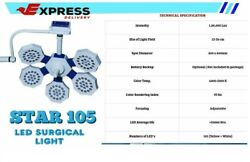 Operation Theater Light Lamp Veego-6 Surgical Examination Veego-6 High Laminar