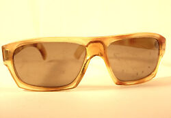 Vintage Cool Ray Sunglasses by Polaroid Bravado 175 Yellow $24.75