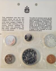 Canada 1966 Proof Like Silver Coin Set