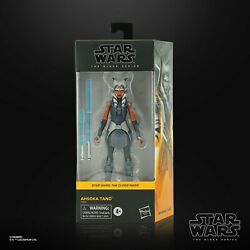 Star Wars The Black Series Ahsoka Tano 6quot; Inch The Clone Wars Figure CONFIRMED $59.99