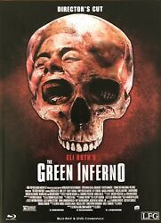 The Green Inferno Directorandrsquos Cut 2 Disc Blu Ray And Dvd Mediabook Limited To 150