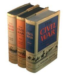 Shelby Foote / Civil War Narrative Fort Sumter To Perryville Fredericksburg 1st