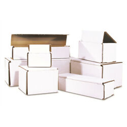 8x4x2 Corrugated Mailer Ships Flat And Fold Together In Seconds
