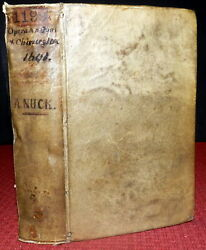 Anton Nuck 3 Works On Human Anatomy Medicine Physiology Surgery 1sted 1690