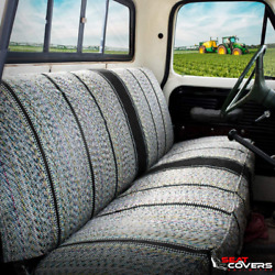 Car Seat Cover Saddle Blanket Truck Bench Universal Automotive Full Rear Cushion