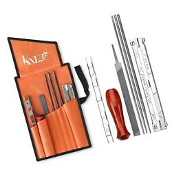 Katzco Chainsaw Sharpener File Kit - Contains 5/32, 3/16, And 7/32 Inch Files...