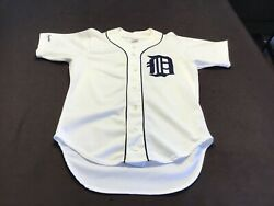 Vintage Detroit Tigers Rawlings Authentic Jersey Size 42 Amazing Condition