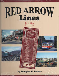 Red Arrow Lines In Color -- New Book
