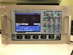 Lecroy 6050a Waverunner 500 Mhz 4 Channel Oscilloscope With Rack Mount