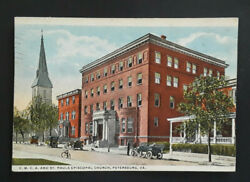 Petersburg Va To Easton Pa Vintage Ymca And St Pauls Episcopal Church Pc Cover