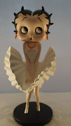 Extremely Rare Betty Boop Marilyn Monroe Look Figurine Statue