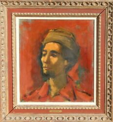 Jan De Ruth Portrait Of The Artist As A Young Man Oil On Canvas Signed L.l