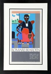 Romare Bearden Mother And Child Exhibition At Parsons Barnett Gallery Screenp