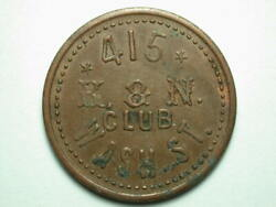 Portland Or K. And N. Club Oand039connor Trade Token