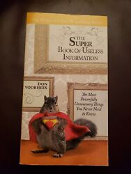 The Super Book of Useless Information : The Most Powerfully Unnecessary Things …