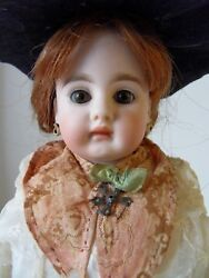 Price Drop Antique Bahr And Proschild Closed Mouth Solid Dome 17 Mold 207 Doll