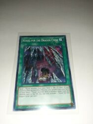 Yugioh X 3 Vessel For The Dragon Cycle - Mp20-en131 - Common - 1st Edition Near