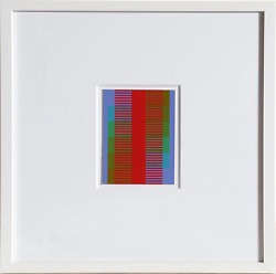 Richard Anuszkiewicz, Annual Edition, Screenprint On Rag Board, Signed And Dated