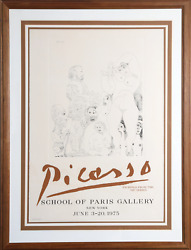Pablo Picasso Etchings From The 347 Series - School Of Paris Gallery Poster