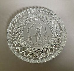 Waterford Crystal 12 Days Of Christmas Plate 11 Pipers Piping 1994 Free Shipping