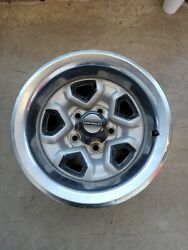 Vintage Chevrolet Rims, Set Of 4, 15 Inch Rims With 4 Rod Cups And Tire Covers.