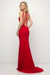 Red evening dress Size 8 $55.99