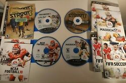 Ps3 Sports 4-pack - Game Discs, Manuals, And Art Work - Fifa Street 3