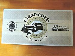 Cigar-opoly Two Guys Smoke Shop 26th Anniversary Board Game New Sealed