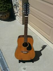 Takamine 12 String Acoustic Guitar Read All Description Sold As,is No Warranty