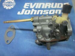 6 Hp Johnson Evinrude 6 Hp Carburetor 383052 1976 To 79 Years Completely Rebuilt