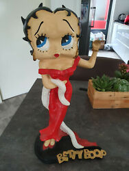 Extremely Rare Betty Boop Old Antique Vintage Big Figurine Statue