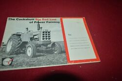Cockshutt Oliver Tractor Buyers Guide For 1966 Brochure Fcca