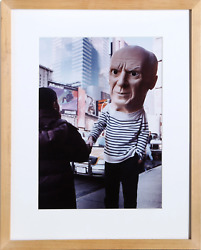 Maurizio Cattelan Untitled Picasso C-print Photograph Stamped And Numbered