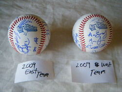 2009 Aflac All American Classic Autograph Signed Ball Bryce Harper Kris Bryant +