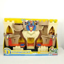 Fisher Price Imaginext Lionand039s Den Castle Kingdom Knights Playset 2014 Bfr70 New