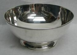 Ephraim Brasher Mma Remake By And Co In Sterling Silver 7 3/4 Bowl