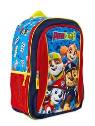 Paw Patrol PawSome 16quot; Backpack Kids School Book Bag Tote Paw Patrol Puff Print $19.95