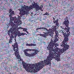 Jim Dowie Original Marilyns Smile M - Picture Framed