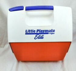 Vintage 1999 LITTLE PLAYMATE ELITE By Igloo Cooler With Push Button Opener $15.95
