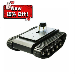 Ros Tr500 Tank Chassis Tracked Vehicle Robot Chassis Suspension System 20kg