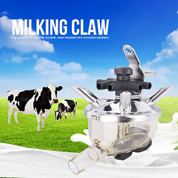 Milking Claw 300cc 6.1x6.1 Pc Cow Milking Machine Part Replacement In Milk