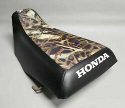 Honda Trx300 Fourtrax Seat Cover In Hornz And Black Or Any 2-tone Combo St