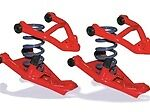 L X2-fo97xxc Upper Control Arms 3xtrem Coil/upr/lower Comes/balljoints
