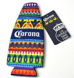 Corona Extra Beer Usa Koozie Bottles Cooler Insulation Colorful Mexico Pattern