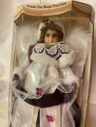 Collectors Choice Porcelain Winter Doll 18 Tall