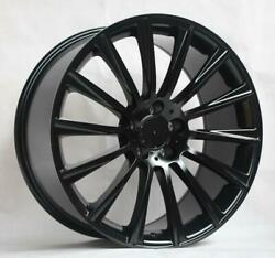 22and039and039 Wheels For Mercedes S550 Sedan 4matic 2014-17 Staggered 22x9/10