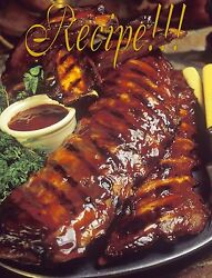 ☆sticky Hog Bbq Sauce Recipe☆for The Grill/bakingor....a Mopping Sauce☆